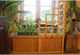 Wooden Planter Boxes 396301 Pallet Wood Corner Trellis Planter for Indoor Winter